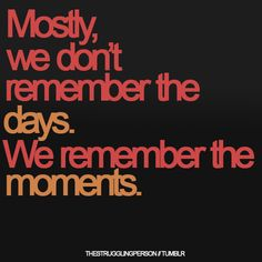 Great moments :)