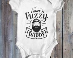 Check out our funny baby bodysuit selection for the very best in unique or custom, handmade pieces from our clothing shops. Cute Bodysuits, Funny Babies, Baby Bodysuit, Daddy, Kids, Etsy, Clothes, Young Children, Outfits