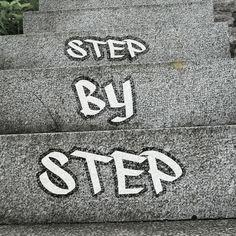 #stepbystep #onestepatatime #staypositive #backtonormal Staying Positive, First Step, Card Holder, Wallet, Instagram Posts, Rolodex, Purses, Diy Wallet, Purse