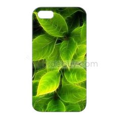 Green Leaf Pattern Protective Hard Cases for iPhone 4 and 4S : Tidebuy.com