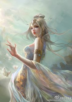 Discovered by find images and videos about art, awesome and fantasy on we heart it - the app to get lost in what you love. Anime Fantasy, Fantasy Girl, Foto Fantasy, 3d Fantasy, Fantasy Kunst, Fantasy Women, Fantasy Pictures, Fantasy Images, Fantasy Artwork