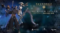 Available now The Risen Exiles is an entirely free expansion adding 3 more classes to the arsenal of playstyle choices for Skyforge's immortals. Experience the deadly power of the Necromancer, balanced strength of the Monk, and dark spells of the Witch. Rise from Exile today and take on new endgame challenges in the Tacid Dunes and master new dungeons alone or with your friends.
