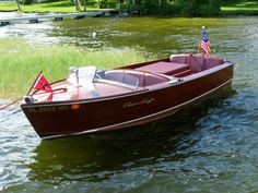 Ideas Speed Boats Design Chris Craft For 2019 Old Boats, Small Boats, Chris Craft Wooden Boats, Wooden Speed Boats, Hunter Boats, Runabout Boat, Classic Wooden Boats, Vintage Boats, Boat Stuff