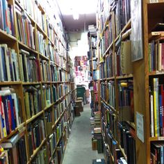 Nerd Heaven in The Dickson Street Bookstore, Fayetteville, AR