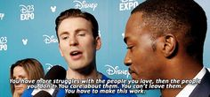 This is such a Steve Rogers thing to say. I swear, he is really Steve.