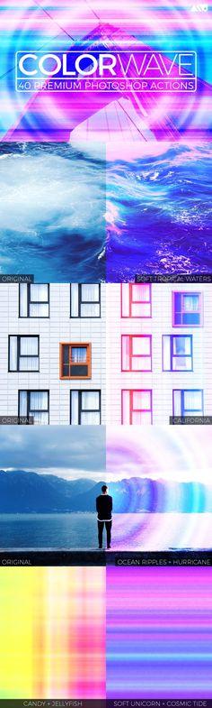 Graphic Design - Graphic Design Ideas  - Colorwave Photoshop Action Set by Matt Borchert on Creative Market   Graphic Design Ideas :     – Picture :     – Description  Colorwave Photoshop Action Set by Matt Borchert on Creative Market  -Read More –