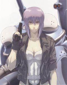 Ghost in the Shell, Major Matoko Kusanagi