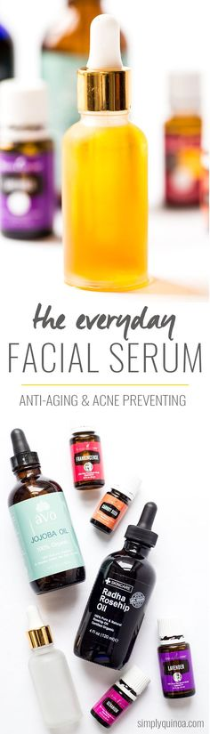 DIY Everyday Facial Serum