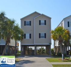 Carolina Calling is a Surfside Beach rental that sleeps Get more information on this miles north of Garden City Pier Surfside Beach vacation rental. Myrtle Beach Vacation Rentals, Surfside Beach, North Beach, Dune, Beach House, Cottage, Places, Vacations, Outdoor Decor