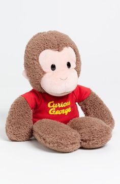 Gund 'Curious George®' Stuffed Animal available at #Nordstrom