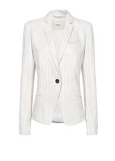 MANGO - Slim-fit striped blazer