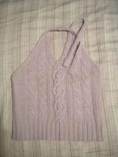 Women's J. Crew Halter Sweater, Size M $8.00