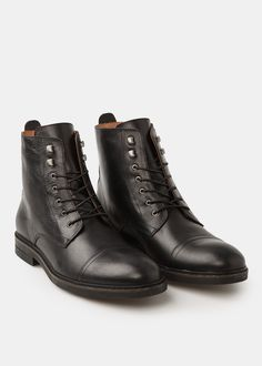 the best attitude 213d9 d68f2 Lace-up leather boots - Man