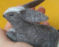 Natural toys wool felt animals role play Waldorf eco by Felthorses Felt Bunny, Natural Toys, Wool Art, Pattern And Decoration, Role Play, Wet Felting, Felt Animals, Cute Gifts, Baby Toys