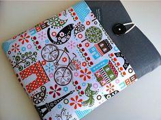 for Mom- iPad Sleeve iPad Case Padded Cover - Paris Ipad Air Sleeve, Macbook Case, Laptop Case, Cute Pineapple, New Ipad, Chromebook, Blue Fabric, Ipad Mini, Ipad Case