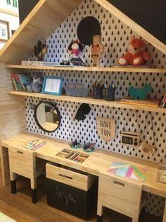cute kids work area #kidsroom