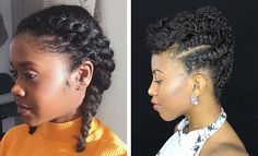 Looking for a way to wear your hair but without needing to rely on cornrows? You need to check out these gorgeous flat twist hairstyles!