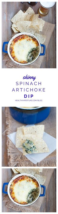 Spinach-Artichoke Dip is a crowd favorite and with a few key healthy ingredient swaps, you can make a skinny version that's big on taste and lower in calories.