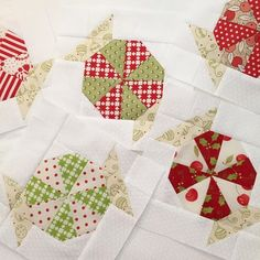 I'm making more Christmas Candy for a table runner🎄 – Embroidery Christmas Tree Quilt, Christmas Blocks, Christmas Quilt Patterns, Patchwork Quilt Patterns, Christmas Sewing, Quilt Block Patterns, Pattern Blocks, Quilt Blocks, Christmas Candy