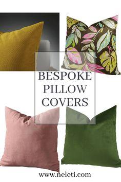 Bespoke Velvet Pillow Covers Cushion Covers, Pillow Covers, Velvet Pillows, Throw Pillows, How To Make Pillows, Bespoke, Handmade, Taylormade, Pillow Case Dresses