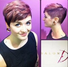 Shaved Short Hairstyle