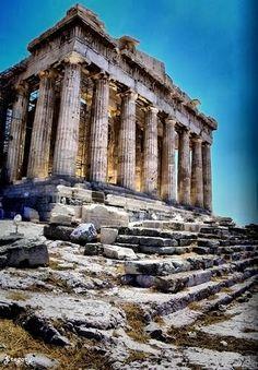 Parthenon, Athens, Greece | See more Amazing Snapz