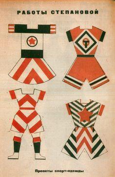 Soviet clothes design