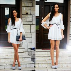 Yesfor White Dress, Sammydress Party Women's Pumps