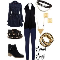 """Yami Yugi"" by winterlake25 on Polyvore"