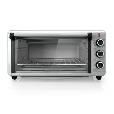 BLACK DECKER TO3240XSBD 8-Slice Extra Wide Convection Countertop Toaster Oven, Includes Bake Pan, Broil Rack Toasting Rack, Stainless Steel Convection Toaster Oven -- This is an Amazon Affiliate link. Check out the image by visiting the link.