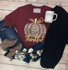 If you pre-ordered our leopard pumpkin tee, your order is ready for pickup. Business hours are Tuesday through Friday and Saturday Vinyl Shirts, Custom Shirts, Thanksgiving Shirts For Women, Cute Shirt Designs, Autumn T Shirts, Leopard Shirt, Cricut Creations, Cute Tshirts, Diy Shirt