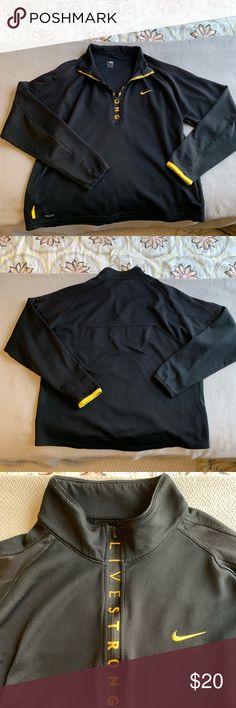Nike Livestrong Full Zip Dri Fit Jacket Men's XL