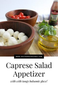 Fresh and flavorful, this Caprese salad is the perfect appetizer for your next BBQ or just by itself. Ready in 5 minutes! Easy Dinner Party Recipes, Easy Potluck Recipes, Easter Recipes, Summer Recipes, Caprese Appetizer, Caprese Salad, Quick Appetizers, Appetizer Recipes, Hot Spinach Dip