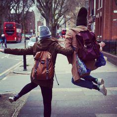 Regram: @nicolaradano, in love with @claudicreddi and @kjoreproject Survey Evolution Backpack! #london #uk #kjoreproject #backpack #leather #canvas #handmade #minimal #design @kjoreproject