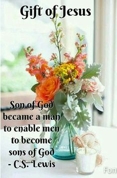 We are sons & daughters of God