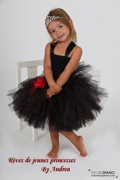 Petite Princesse Bébé Fille Tutu Rose Ange robe nouveau-né Cadeau Amour Mignon