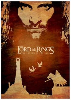 Lord of the Rings Film Series Poster Set / Print High by onlyarts