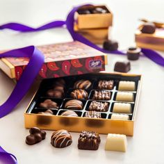 Light up anyone's day with this Diwali Delights box of marvellous chocolates, all made with only 100% sustainable cocoa.