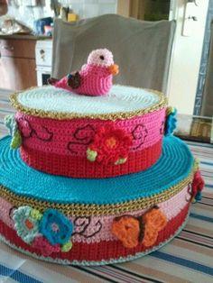 42 Beste Afbeeldingen Van Taart Haken Crochet Cake Crochet Food