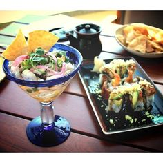 This sesame white seabass ceviche from the Cold Bar menu may be closest we get to winter in  #SanDiego.