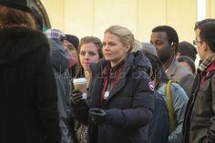 Jennifer Morrison on set - March 28, 2016