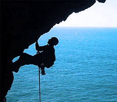a fear im going to conquer real rock climbing...looks so fun