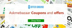 Get up to date Askmebazaar Coupons and offers from our site http://offerground.com/offers/stores/ask-me-bazaar/ and save maximum money.