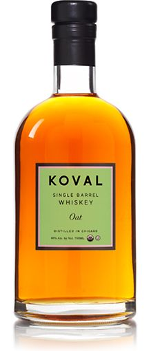 Koval Organic Oat whiskey. Very pleasant nose -sweetgrass, hay, sawdust - with unexpected soft sweetness on the palate.