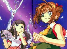 AX June 1999 / Article page / Sony Magazines / Released on May 1999 / STAFFS: Illustrating: Makoto Koga, Color designation: Madoka Katsunuma, Coloring: Hiroko Mori. Illustrations, Manga Illustration, Card Captor Sakura, Hong Kong, Manga News, Animation, Manga To Read, Magical Girl, Film