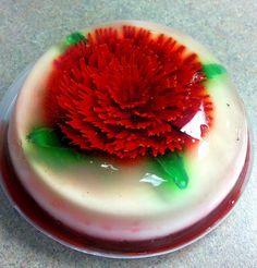 Jello flower by bearexposed, via Flickr