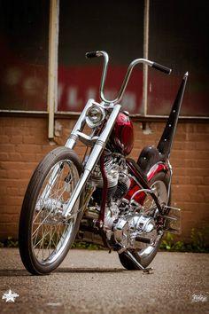 Chopper Inspiration - jd-kd: Thunderbike 30 Years Panhead (2015) by...   Choppers and Custom Motorcycles   jd-kickdrum January 2016