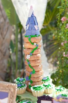 rapunzel party food ideas | Rapunzel + Tangled Party with Really Cute Ideas via Kara's Party ...