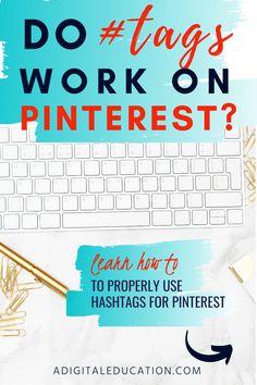 How Do Hashtags Work, Content Marketing, Social Media Marketing, Online Logo, Pinterest For Business, Social Platform, Pinterest Marketing, Social Media Tips, Blog Tips