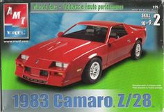 AMT/ERTL model kit in scale 31805 released in 2003 Model Cars Kits, Kit Cars, Car Kits, Red Camaro, Chevrolet Camaro, Plastic Model Kits, Plastic Models, Camaro Models, First Time Driver